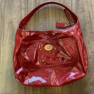 Brick red vintage Coach Bag